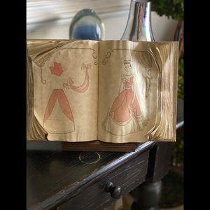 WDCC Cinderella sewing book
